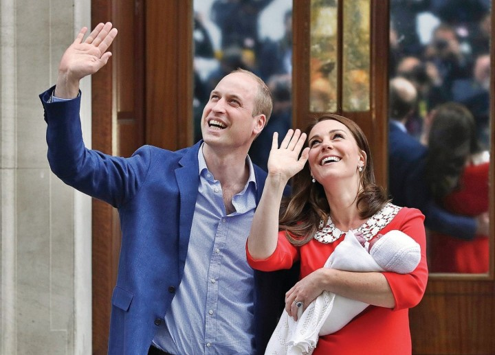 Brands use the birth of royal baby number three to boost their communications